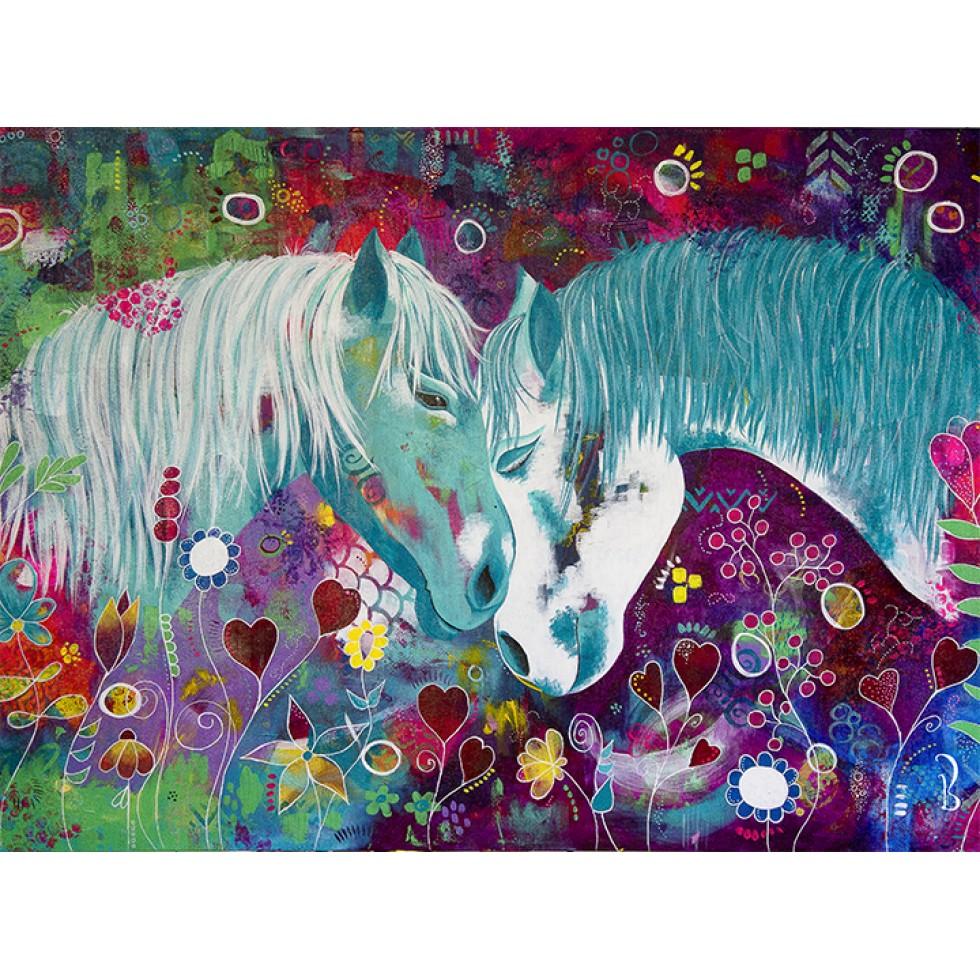 Symbiose Horses Jigsaw Puzzle