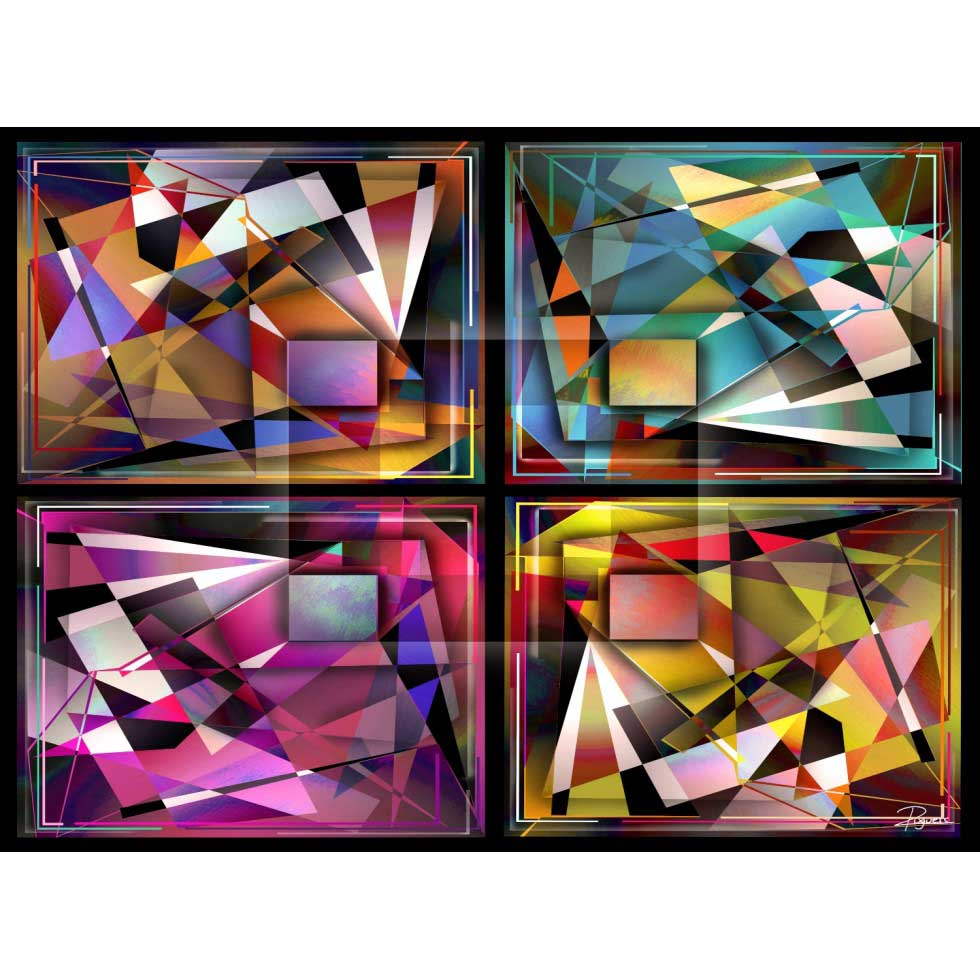 Bling Bling Abstract Abstract Jigsaw Puzzle