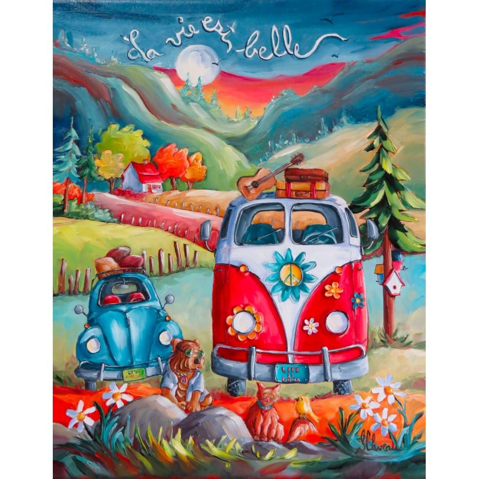 La Vie Est Belle Cars Jigsaw Puzzle