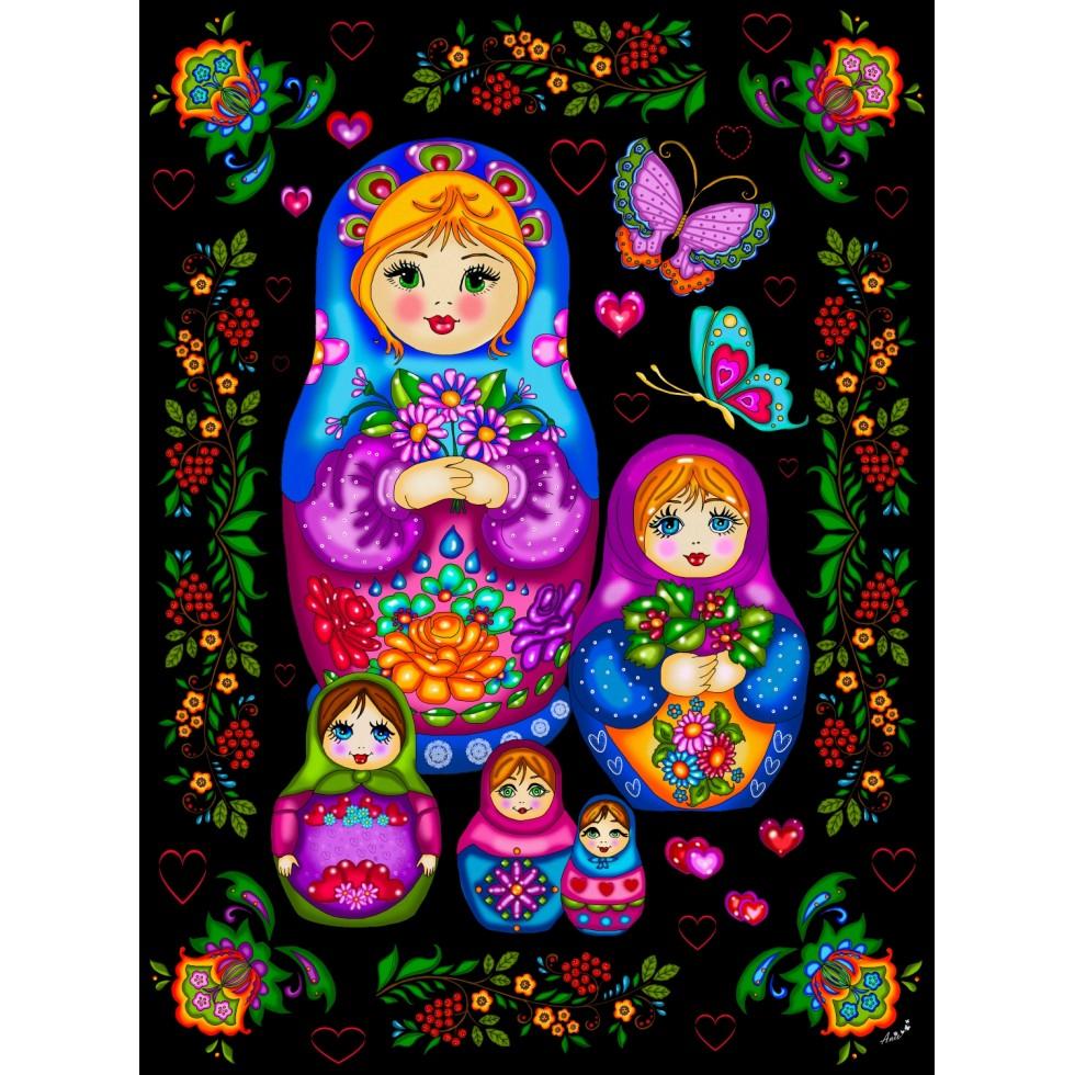 Russian Dolls Russia Jigsaw Puzzle