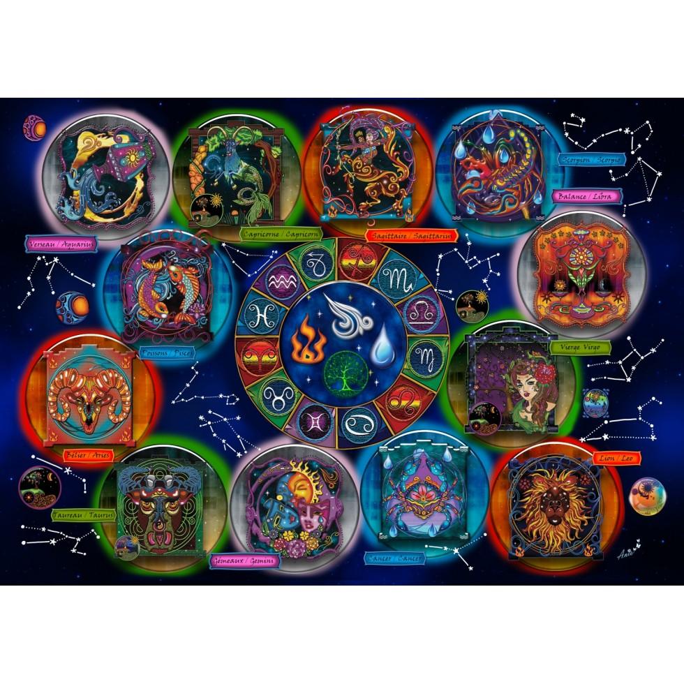 Zodiac Space Jigsaw Puzzle