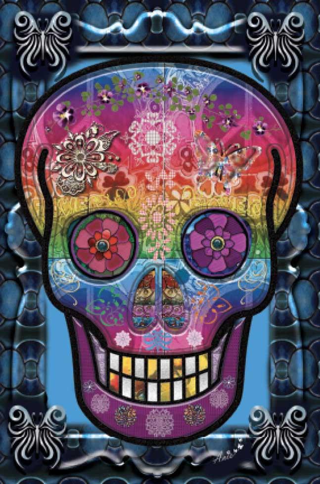 Skull (Mini) Halloween Jigsaw Puzzle