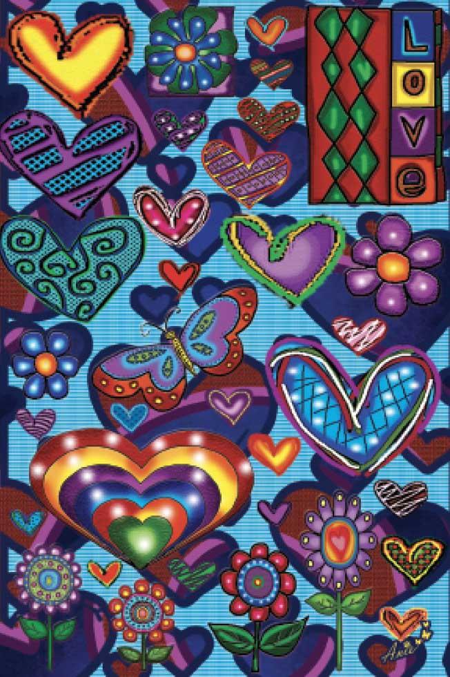 Love (Mini) Valentine's Day Jigsaw Puzzle
