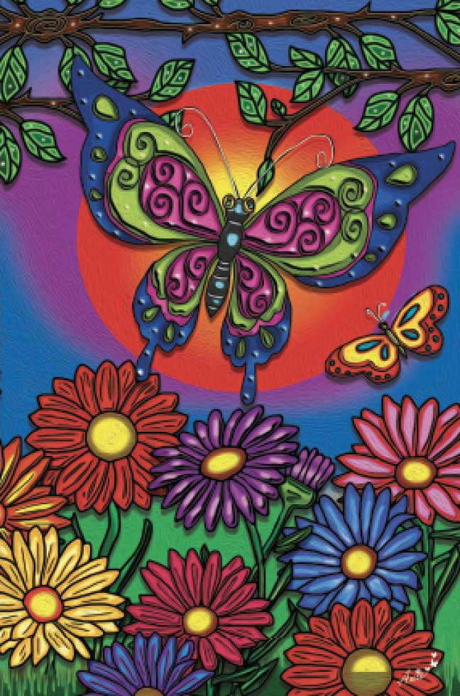 Butterfly (Mini) Butterflies and Insects Jigsaw Puzzle