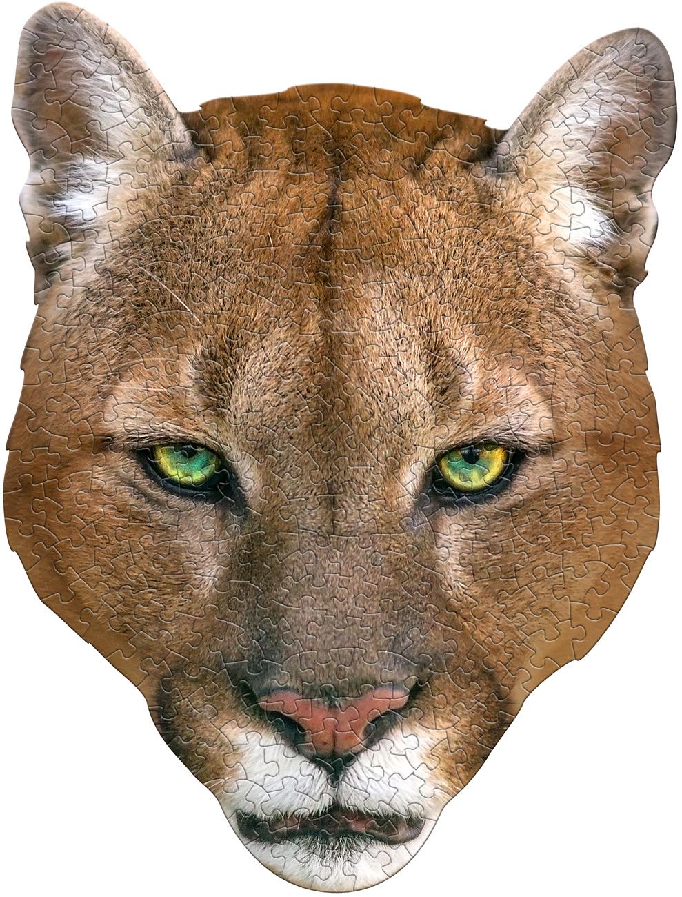 I Am Cougar Animals Shaped Puzzle