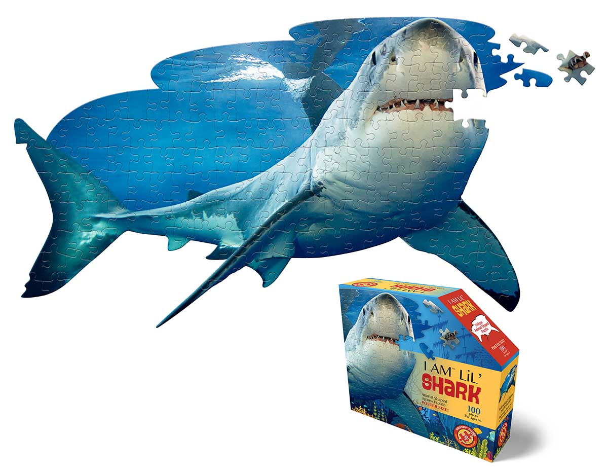 Madd Capp Jr Puzzle - I AM Lil' Shark Under The Sea Shaped Puzzle