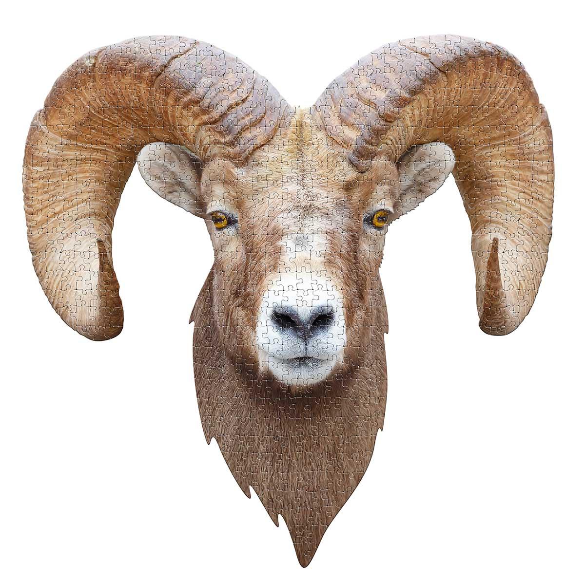 I AM Ram Animals Shaped Puzzle
