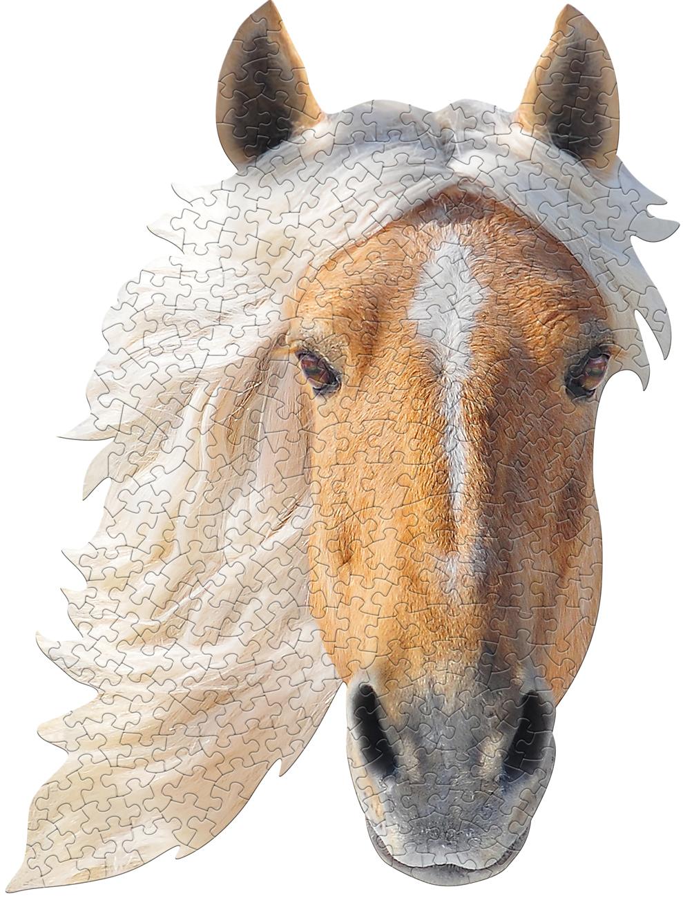 I Am Horse Animals Shaped Puzzle