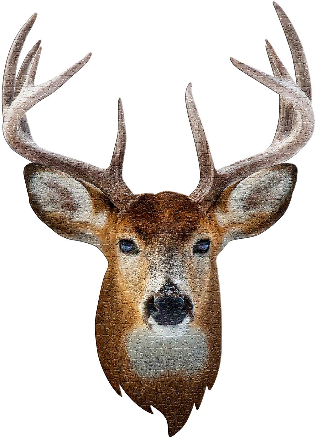 Madd Capp Mini Puzzle - I AM Buck Animals Shaped Puzzle