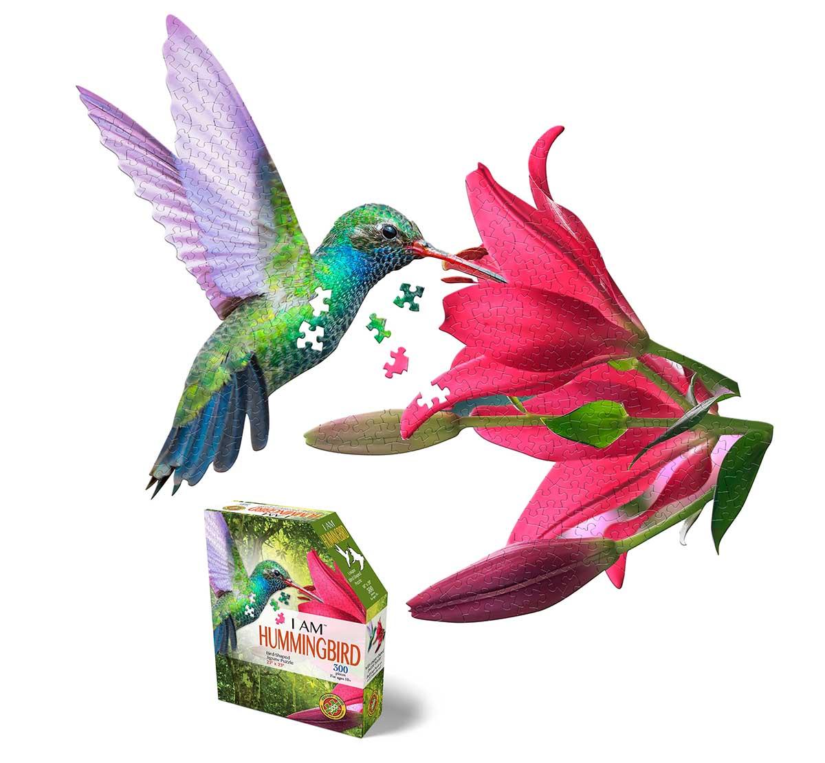 I AM Hummingbird Birds Shaped Puzzle
