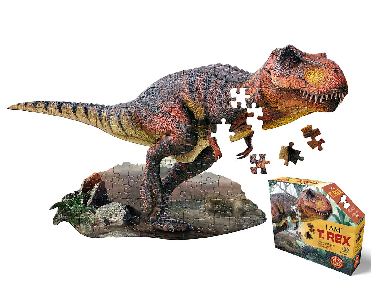 I Am T-Rex Dinosaurs Shaped Puzzle