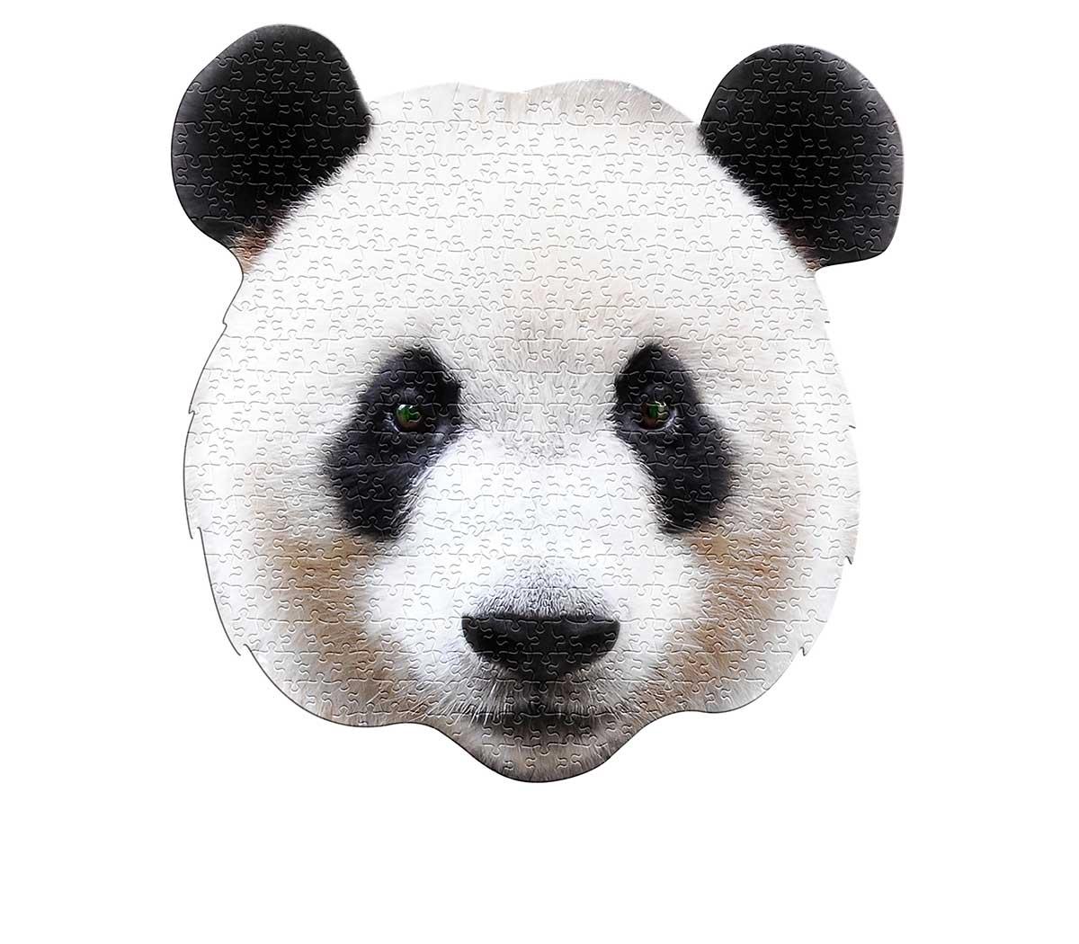 I AM Panda Pandas Shaped Puzzle