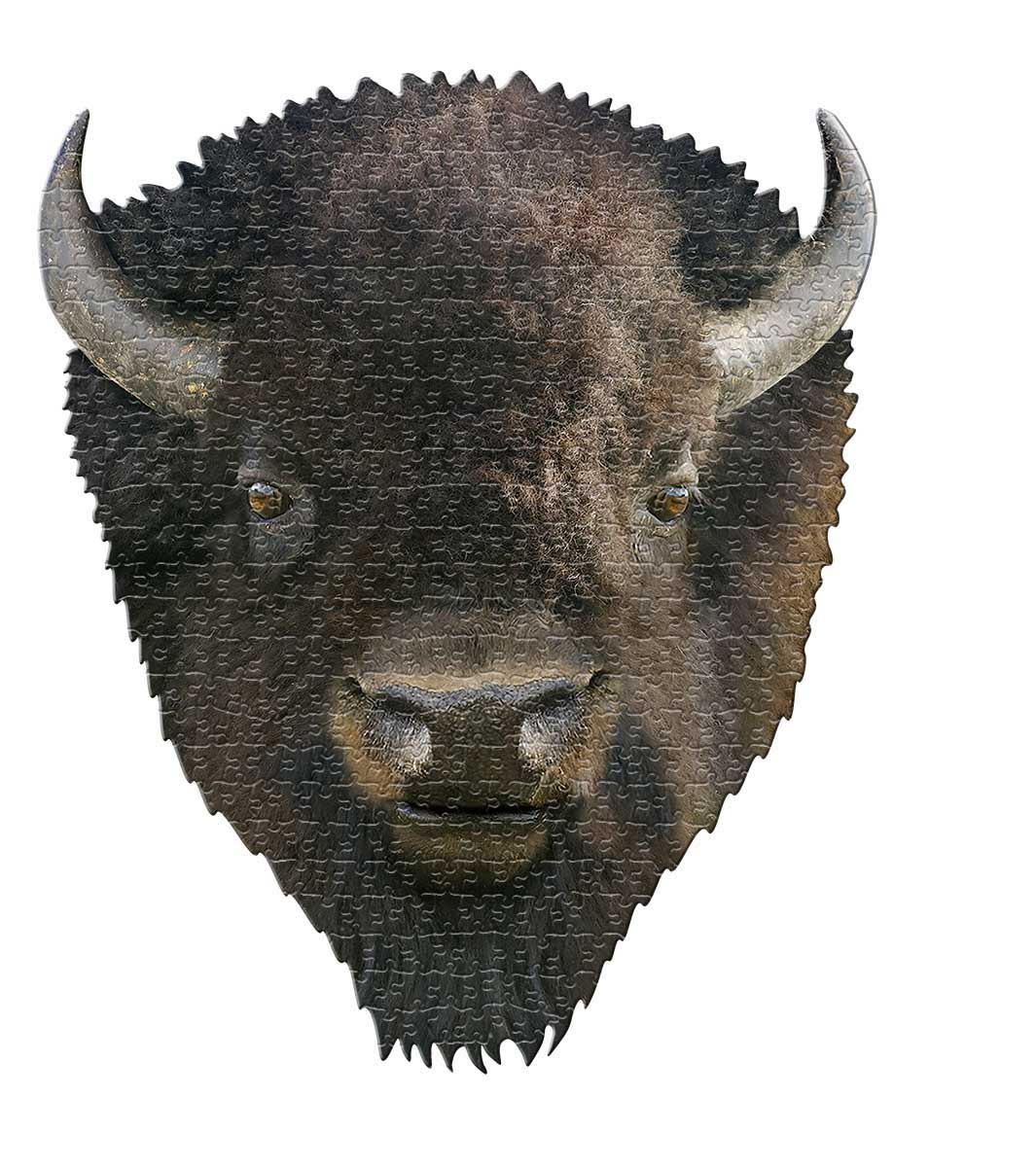 I AM Bison Animals Shaped Puzzle