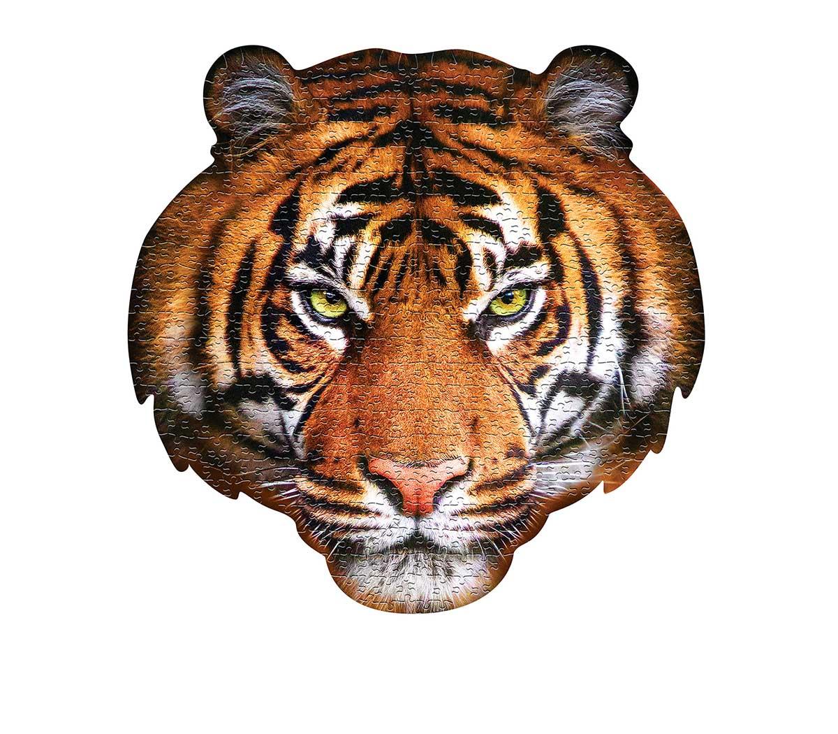 I AM Tiger Tigers Jigsaw Puzzle