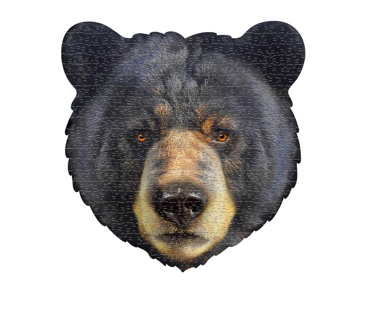 I AM Bear Bears Shaped Puzzle