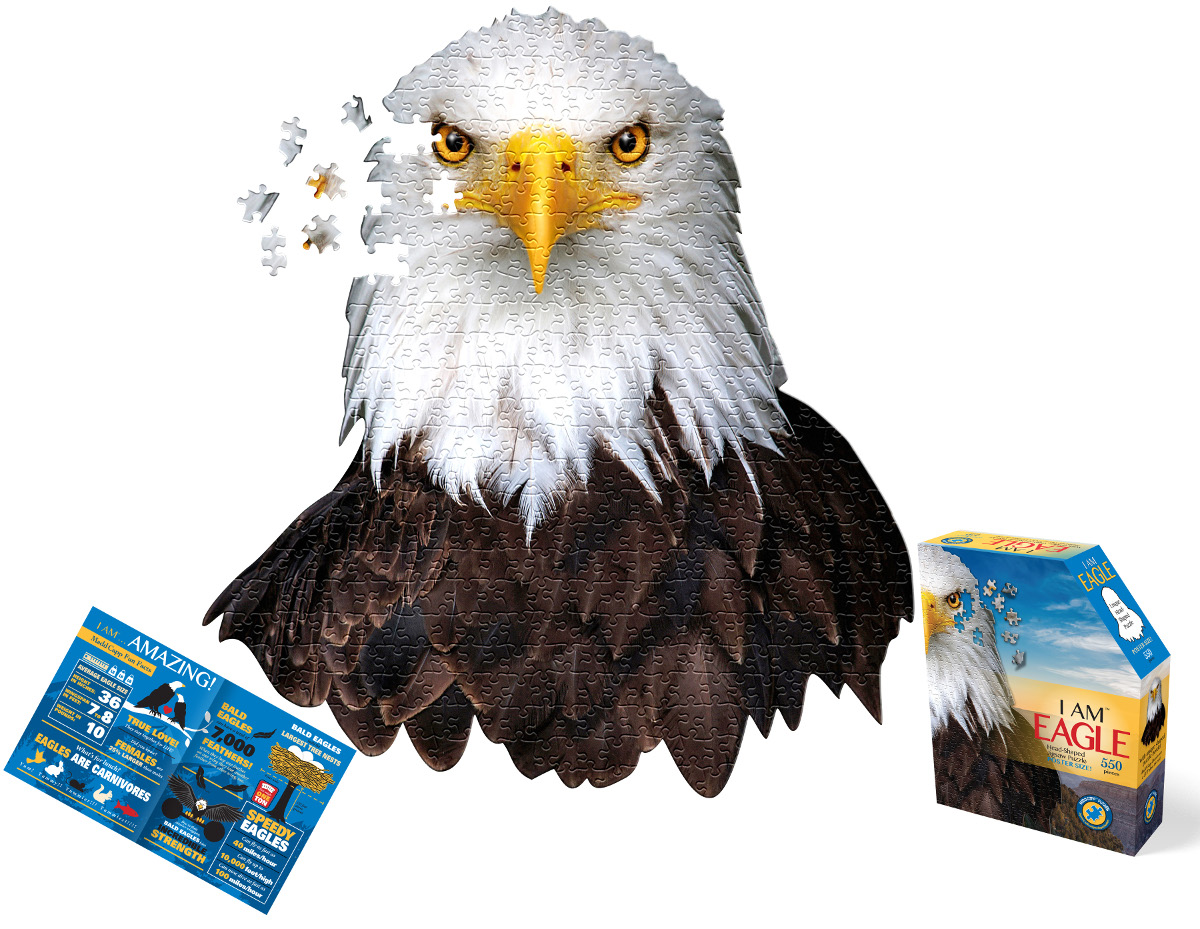 I Am Eagle Eagles Shaped Puzzle