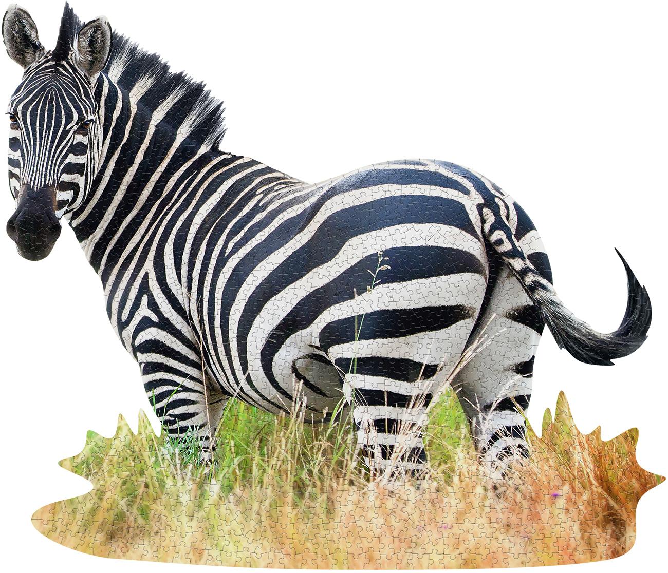 I Am Zebra Animals Shaped Puzzle