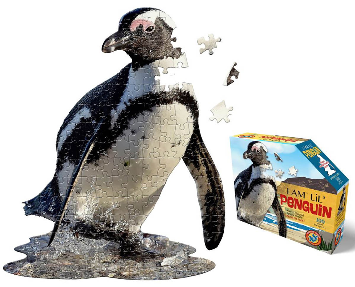 I Am Lil' Penguin Animals Shaped Puzzle