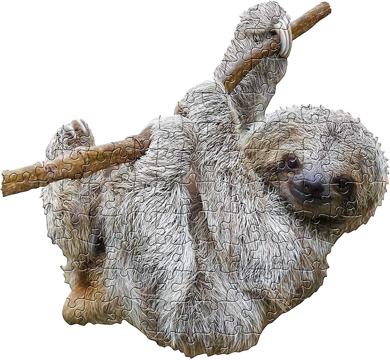 I Am Lil' Sloth Animals Shaped Puzzle
