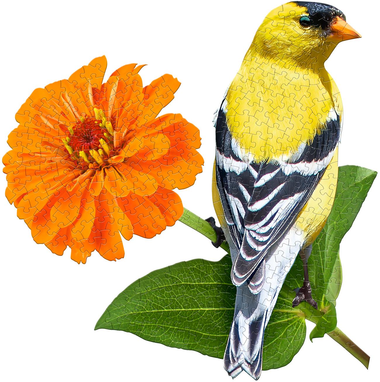 I Am Goldfinch Birds Shaped Puzzle