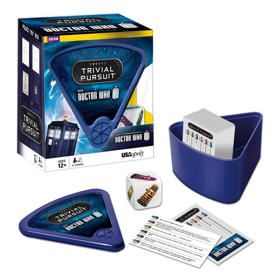 Trivial Pursuit: Doctor Who Edition Movies / Books / TV