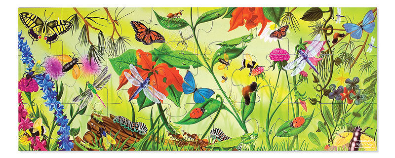 Bugs - Floor Butterflies and Insects Children's Puzzles