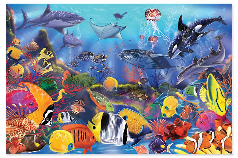 Underwater Under The Sea Jigsaw Puzzle