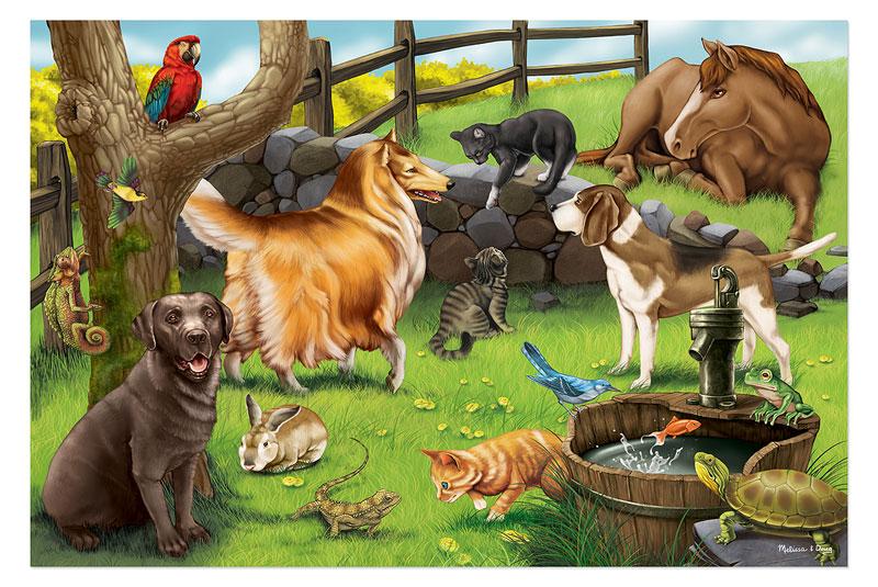Pets - Floor Other Animals Floor Puzzle