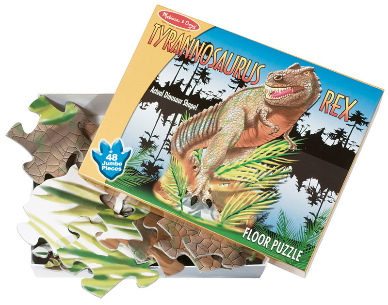 T-Rex - Scratch and Dent Dinosaurs Shaped Puzzle