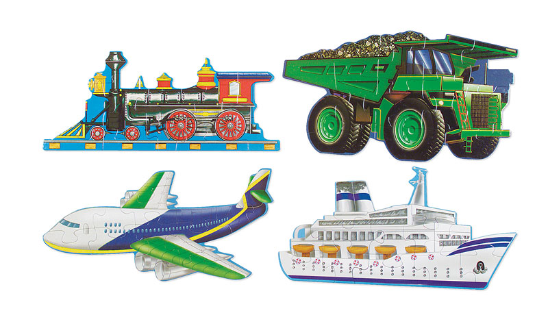 Going Places - Scratch and Dent Vehicles Jigsaw Puzzle
