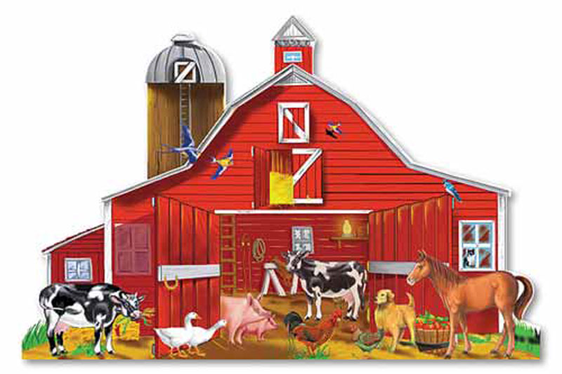 Farm Friends - Floor Farm Animals Floor Puzzle