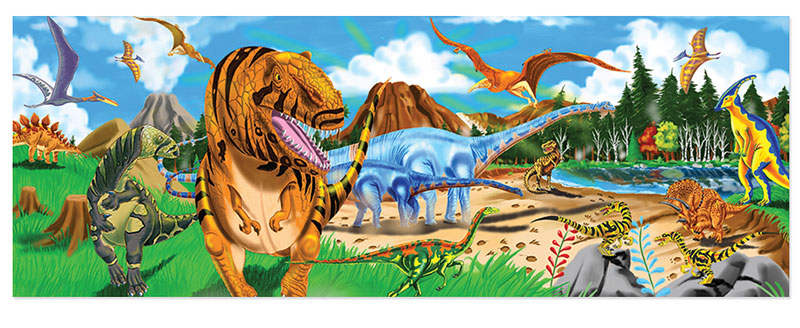 Land of Dinosaurs - Scratch and Dent Dinosaurs Jigsaw Puzzle