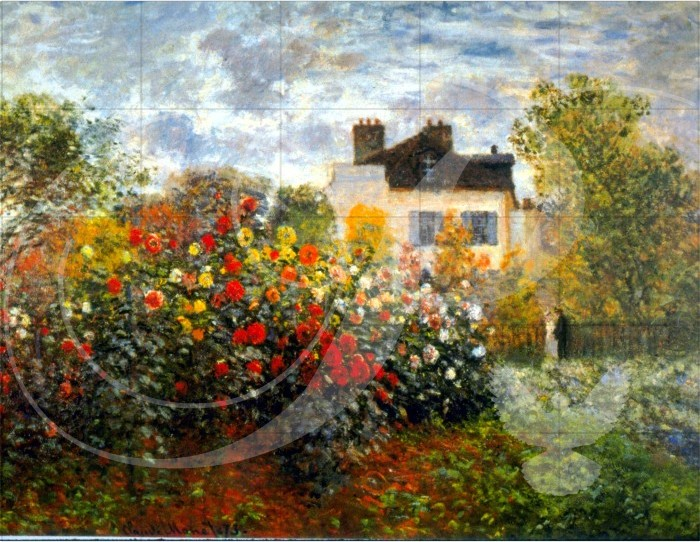 Argenteuil Impressionism Wooden Jigsaw Puzzle