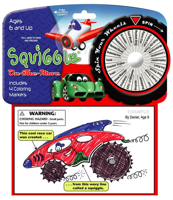 Squiggle - On the Move Toy