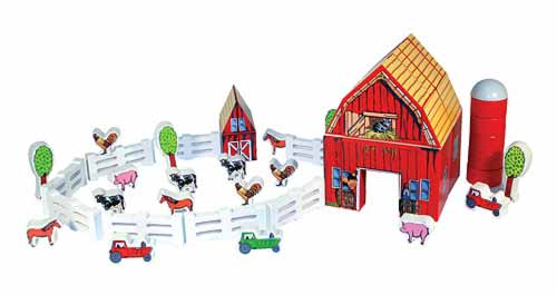 Farm Blocks Farm Toy
