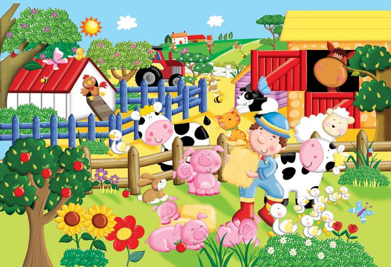 My Little Farm Farm Children's Puzzles