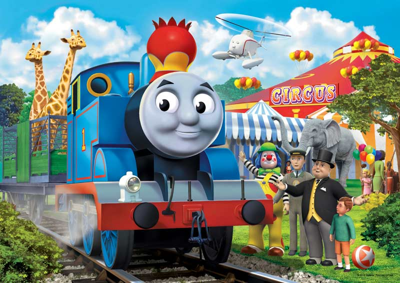 Circus Fun (Thomas & Friends) - Scratch and Dent Thomas and Friends Jigsaw Puzzle