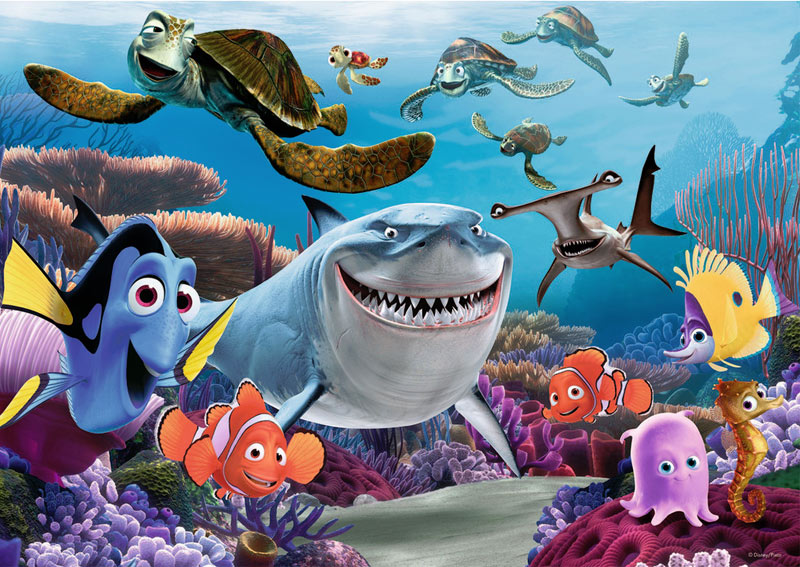 Smile! (Finding Nemo) - Scratch and Dent Disney Jigsaw Puzzle