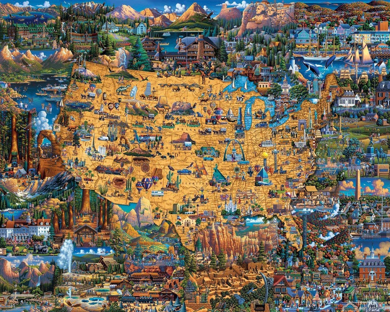 National Parks National Parks Jigsaw Puzzle