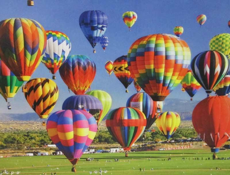 International Hot Air Balloon Festival Albuquerque - Scratch and Dent Balloons Jigsaw Puzzle