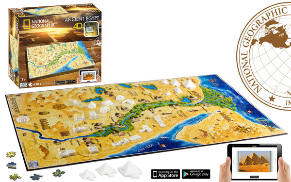 Ancient Eqypt Landmarks / Monuments 4D Puzzle