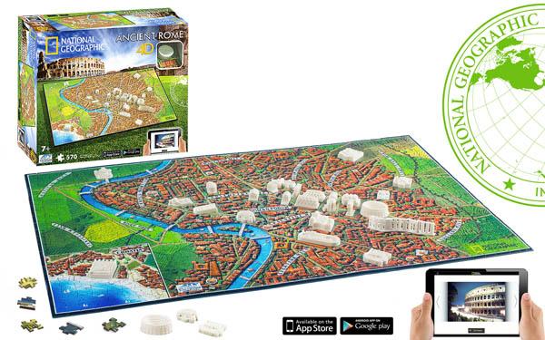 Ancient Rome Landmarks / Monuments 4D Puzzle