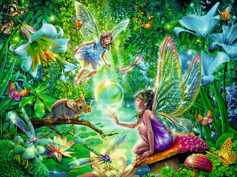 Magic Faries Fairies Jigsaw Puzzle