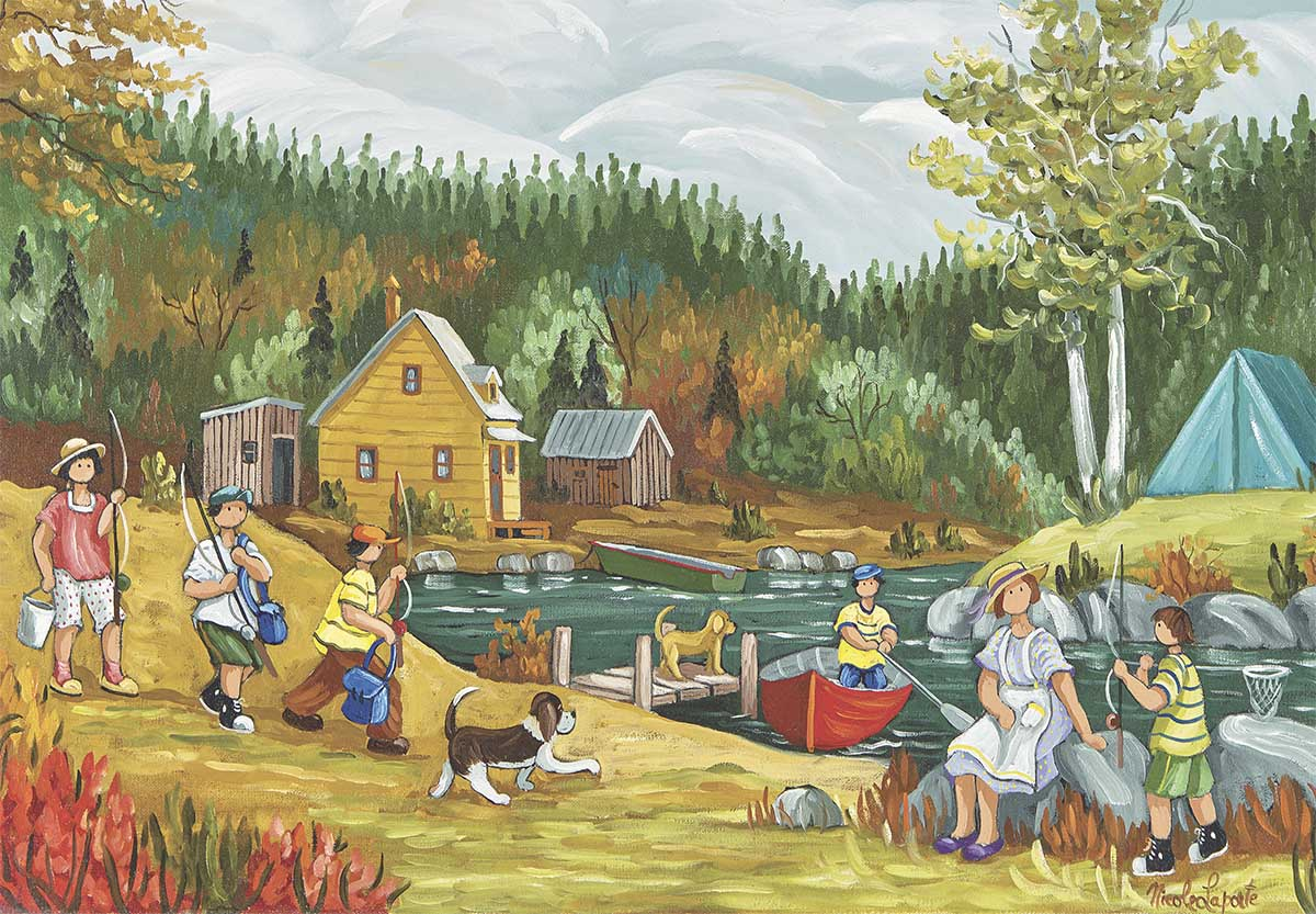 Summer Day Countryside Jigsaw Puzzle