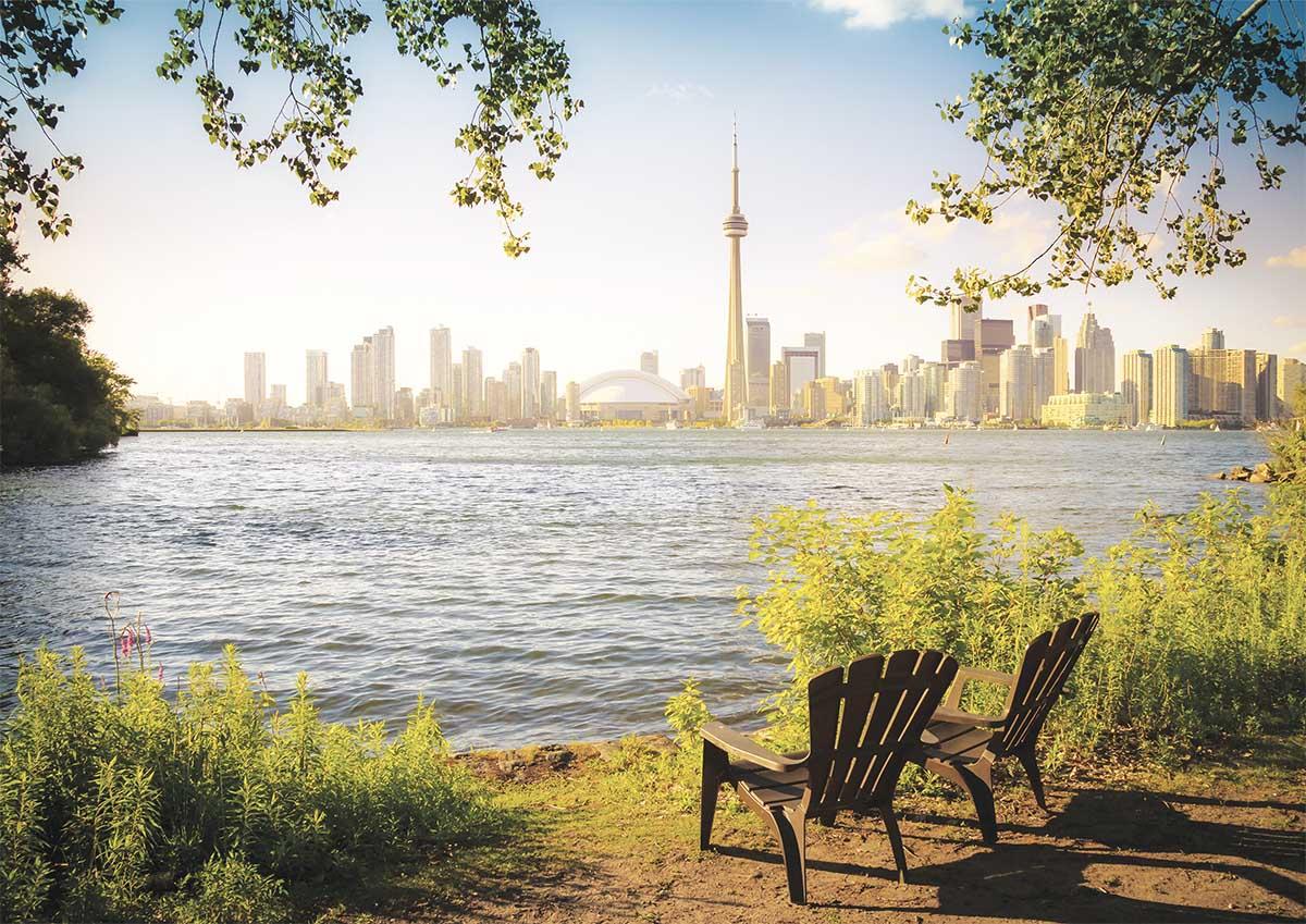 Toronto, Ontario Skyline / Cityscape Jigsaw Puzzle