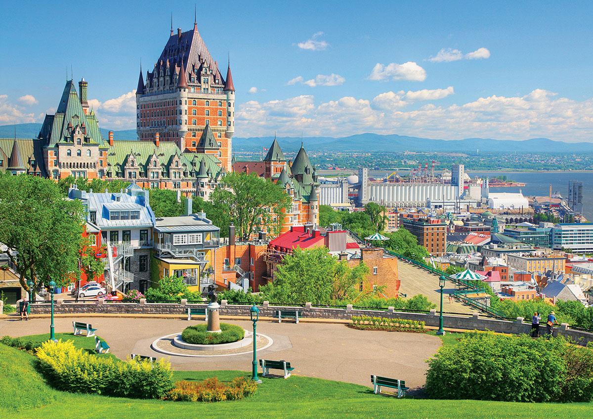 Québec - Châteu Frontenac - Scratch and Dent Canada Jigsaw Puzzle