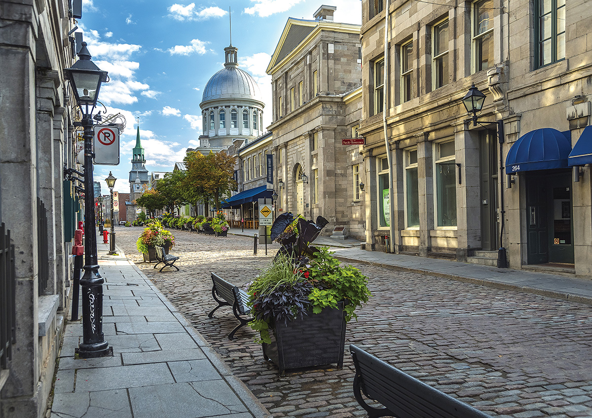 Old Port, Montreal Landmarks / Monuments Jigsaw Puzzle