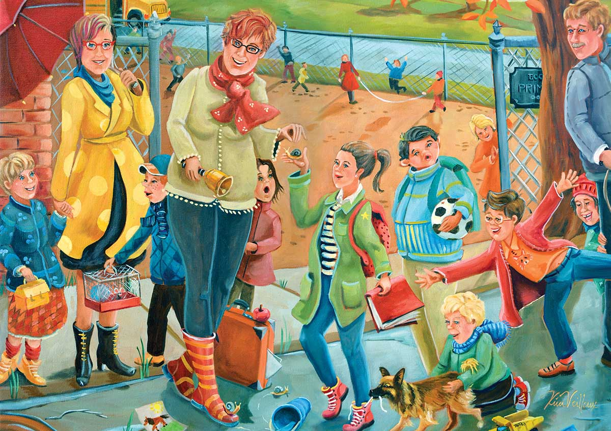 Veilleux Playtime People Jigsaw Puzzle
