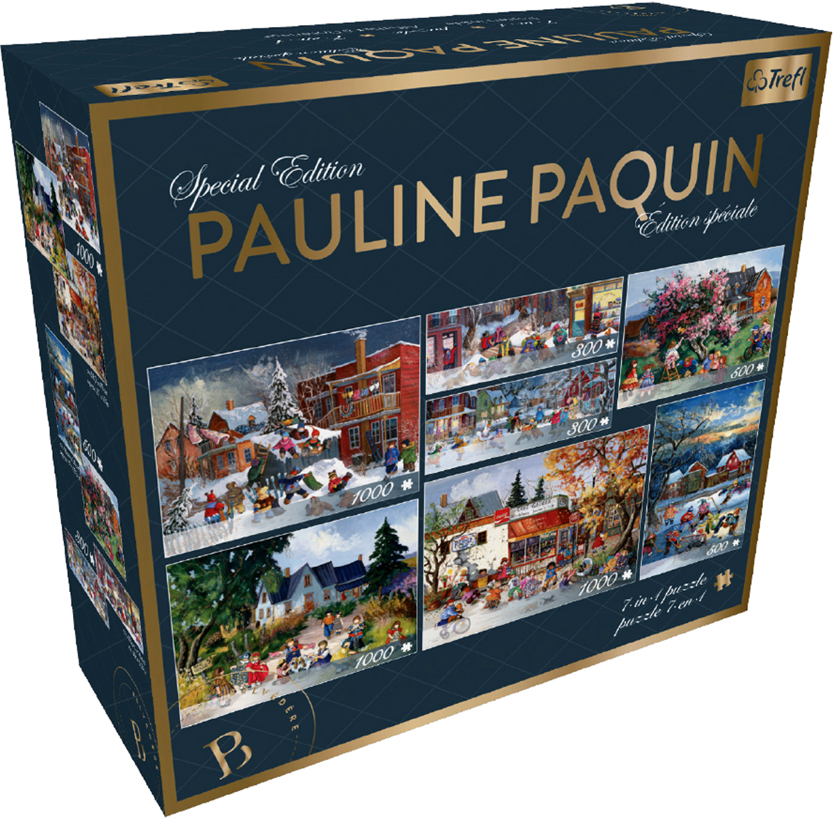 7 IN 1 Paquin: Special Edition Sports Jigsaw Puzzle