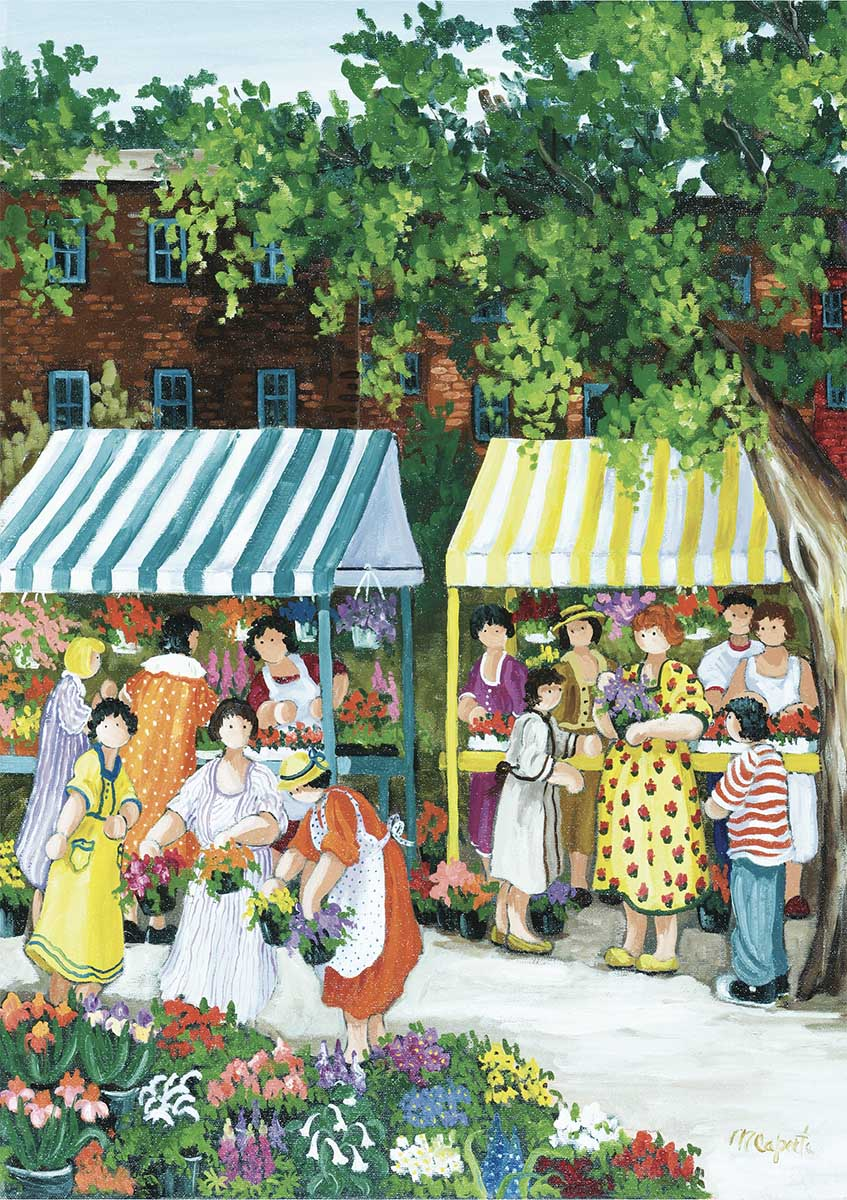 At the Market Garden Jigsaw Puzzle